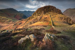 Side Pike in the Langdale Valley, Lake District. Landscape Photography Autumn